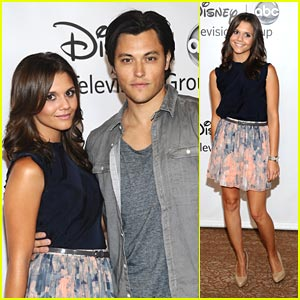 Alexandra Chando: ABC TCA Party with Blair Radford
