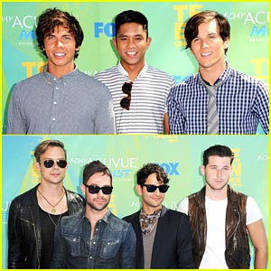Allstar Weekend &#038; Honor Society -- Teen Choice Awards 2011