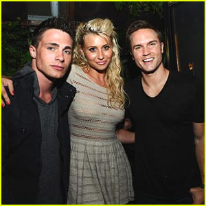 Aly Michalka: Deus Ex with Colton Haynes & Scott Porter!