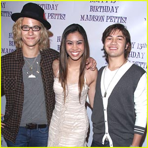 Ashley Argota & Taylor Gray: Party with Madison Pettis!