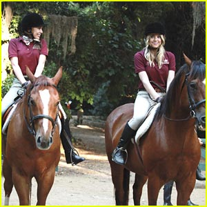Ashley Benson & Janel Parrish: Jockey Jubliant