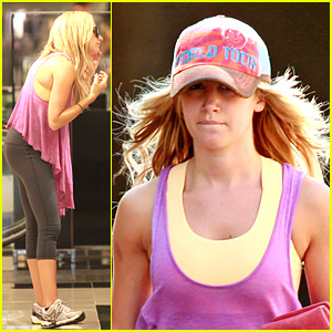 Ashley Tisdale: Shopping For Shades!