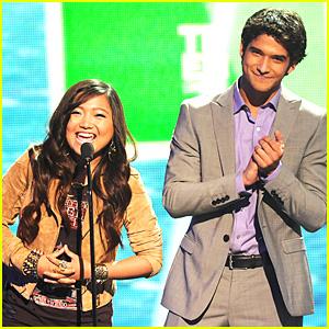 Charice & Tyler Posey - Teen Choice Awards Presenters!