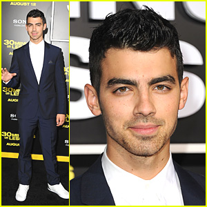 Joe Jonas: '30 Minutes Or Less' Premiere!