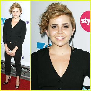 Mae Whitman: New Blonde Hair!