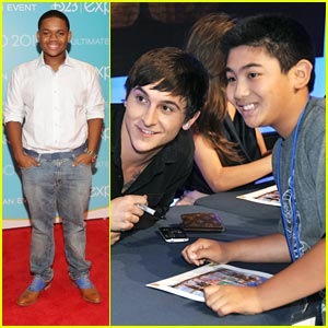 Mitchel Musso & Doc Shaw: 'Kings' of D23