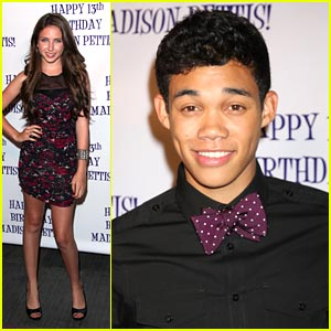 Ryan Newman & Roshon Fegan: Party Pair