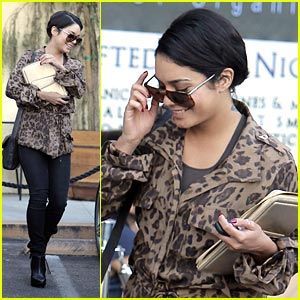 Vanessa Hudgens: Lovely in Leopard
