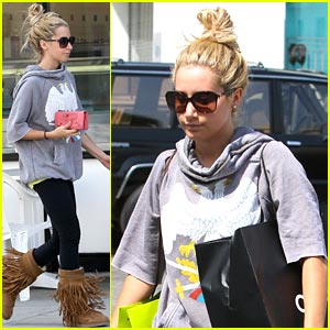 Ashley Tisdale: Chanel Shopper