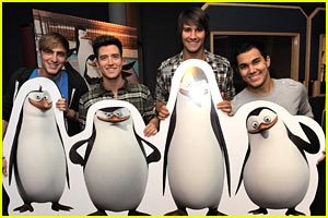 Big Time Rush are Big Time Penguins -- FIRST LOOK!