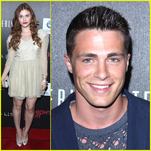 Colton Haynes & Holland Roden: Fashion's Night Out