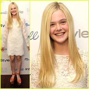Elle Fanning: Madewell Launch in Los Angeles