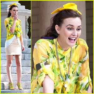 Leighton Meester: Bridal Boot Camp in Brooklyn!