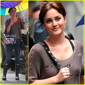 Leighton Meester: Princess Dream Moment Fulfilled!