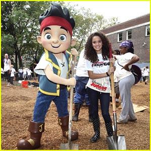 Madison Pettis Builds a Playground in Philadelphia
