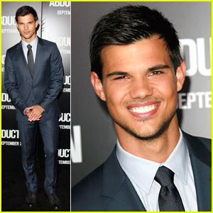 Taylor Lautner: 'Abduction' Premiere!