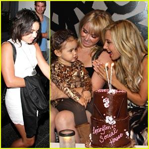 Vanessa Hudgens & Ashley Tisdale: Happy Birthday, Jennifer!