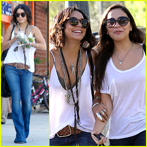 Vanessa & Stella Hudgens: Pumpkin Patch Pair