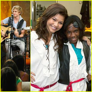 Zendaya & Cody Simpson: More 'PrankStars' Pics!