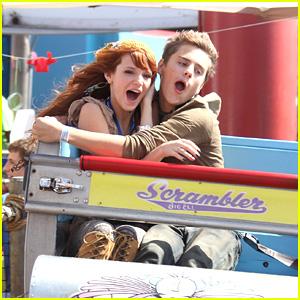 Bella Thorne & Garrett Backstrom Parties on the Pier