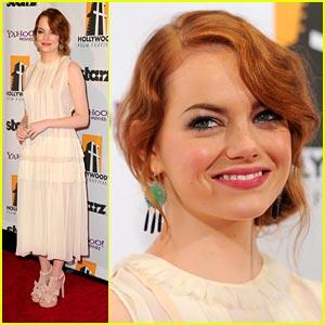 Emma Stone: Hollywood Ensemble Cast Award Honoree