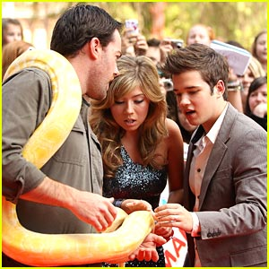 Jennette McCurdy &#038; Nathan Kress: Aussie KCAs 2011!