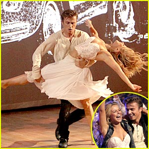 Julianne Hough's DWTS Return -- Pics & Video!