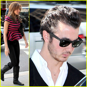 Kevin & Danielle Jonas Make It In Manhattan