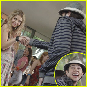 Matt Prokop Flirts with Sasha Pieterse