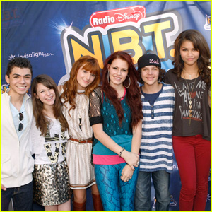 Zendaya & Bella Thorne: Meet The N.B.T. Artists!
