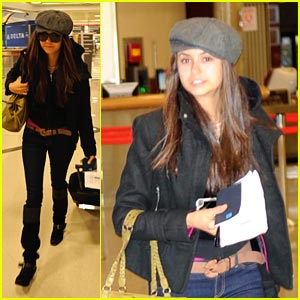 Nina Dobrev: Big Apple Bound