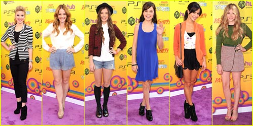 2011 Power of Youth -- Best Dressed Poll!