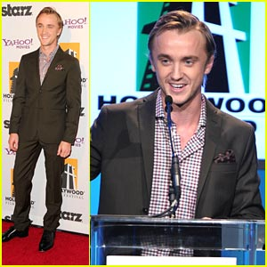 Tom Felton: 'Harry Potter' Wins Hollywood Movie Award!
