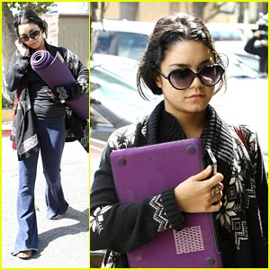 Vanessa Hudgens Takes It Easy on Tuesday