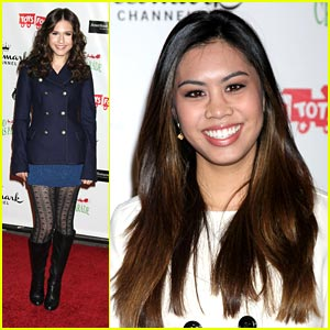 Ashley Argota & Erin Sanders: Hollywood Christmas Cuties