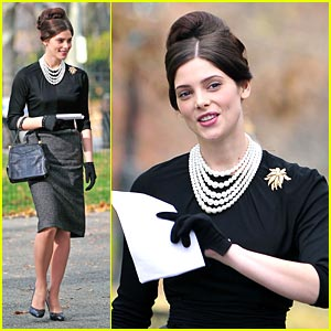 Ashley Greene on 'Pan Am' Set -- FIRST LOOK!