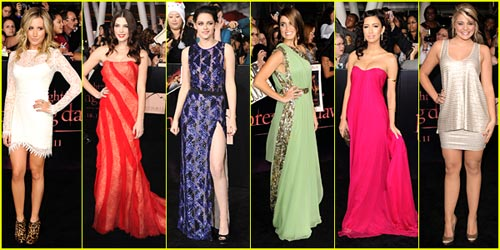 'Breaking Dawn' Premiere Best Dressed Poll!