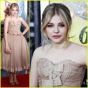Chloe Moretz: 'Hugo' Premiere in New York City!