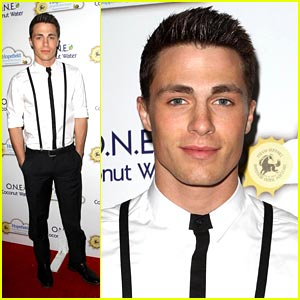 Colton Haynes: Hopefield Animal Sanctuary Stud