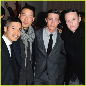 Colton Haynes: CFDA Awards with Richard Chai
