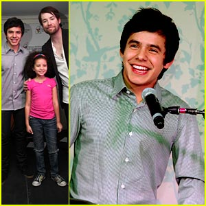 David Archuleta Makes A Difference at Ronald McDonald House