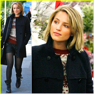 Dianna Agron: Holiday Decorations Shopping!