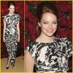 Emma Stone: MoMA Marvelous!