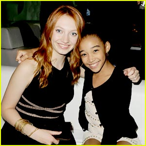 Jacqueline Emerson & Amandla Stenberg: 'Breaking Dawn' Duo