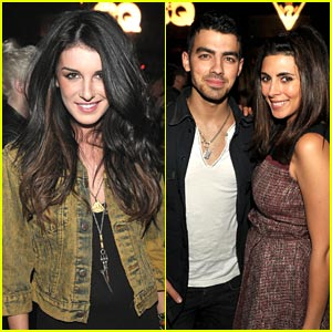 Joe Jonas & Shenae Grimes Celebrate Guess & GQ
