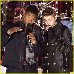 Justin Bieber Lights Up Rockefeller Center