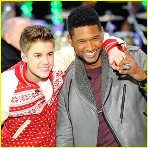 Justin Bieber: 'Mistletoe' on Today!