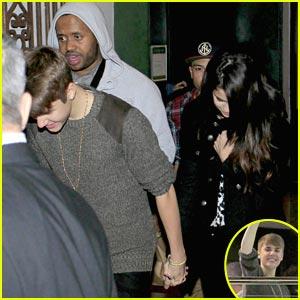 Justin Bieber & Selena Gomez: Madrid Mates