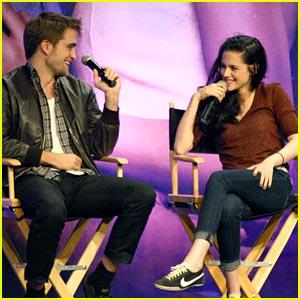 Kristen, Rob & Taylor: Twilight Convention Comrades