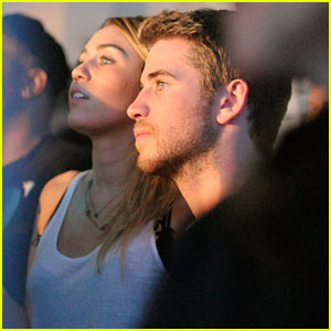 Miley Cyrus &#038; Liam Hemsworth: Google Music Launch!